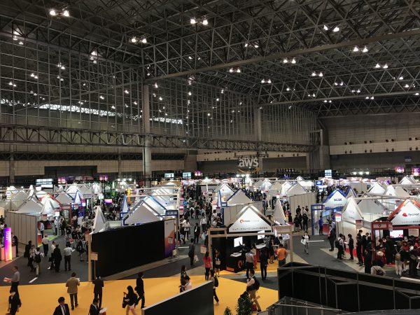 AWS Summit Tokyo 会場内の様子